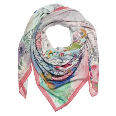 wrq.e.d Aster scarf