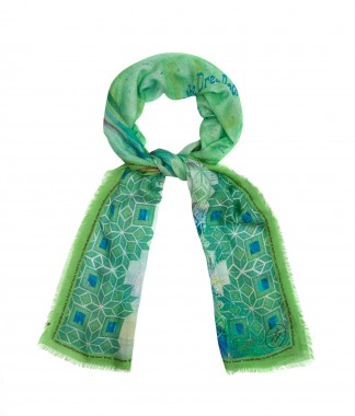 wrq.e.d Look It Up In The Dream Book scarf