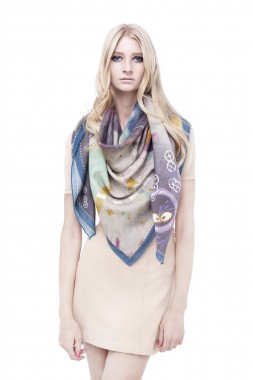 wrq.e.d Midnight scarf